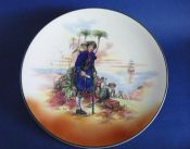 Rare Vintage Royal Doulton 'Treasure Island' Series Ware Chop Dish or Charger D6376 c1950